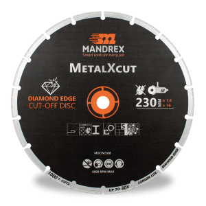 Mandrex Diamond MetalXcut Blade 230mm Diameter