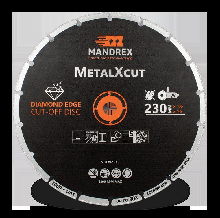 Mandrex Diamond MetalXcut Blade 230mm Diameter